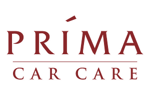 Prima Car Care Logo in red