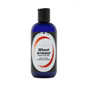 One bottle of Prima Car Care Wheel Armour is displayed with a blank background